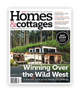 Homes & Cottages Magazine Cover - Issue 4 - 2016