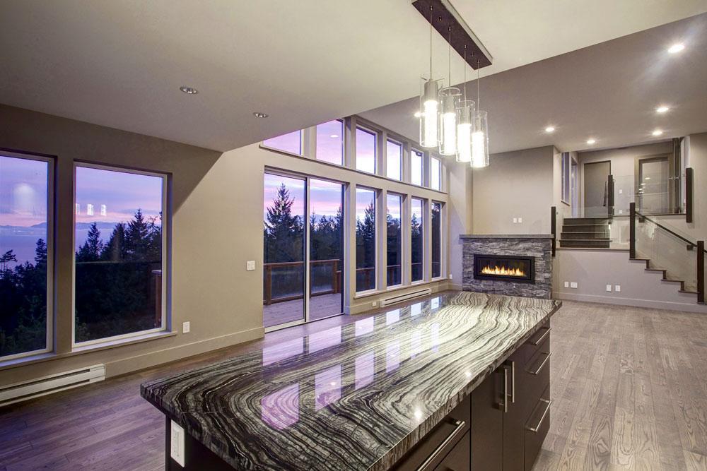 Modern Carpenter House • Clarkston Construction • Custom Island on bachelor house design, guard house design, prairie house design, blue bird house design,